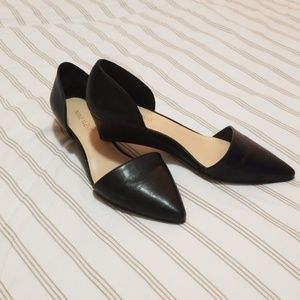 Nine West low wedge dress shoes